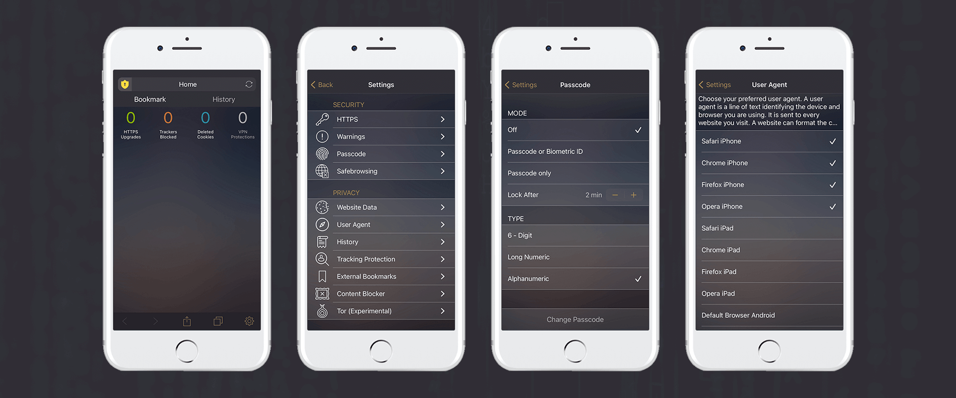 snowHaze swift app design