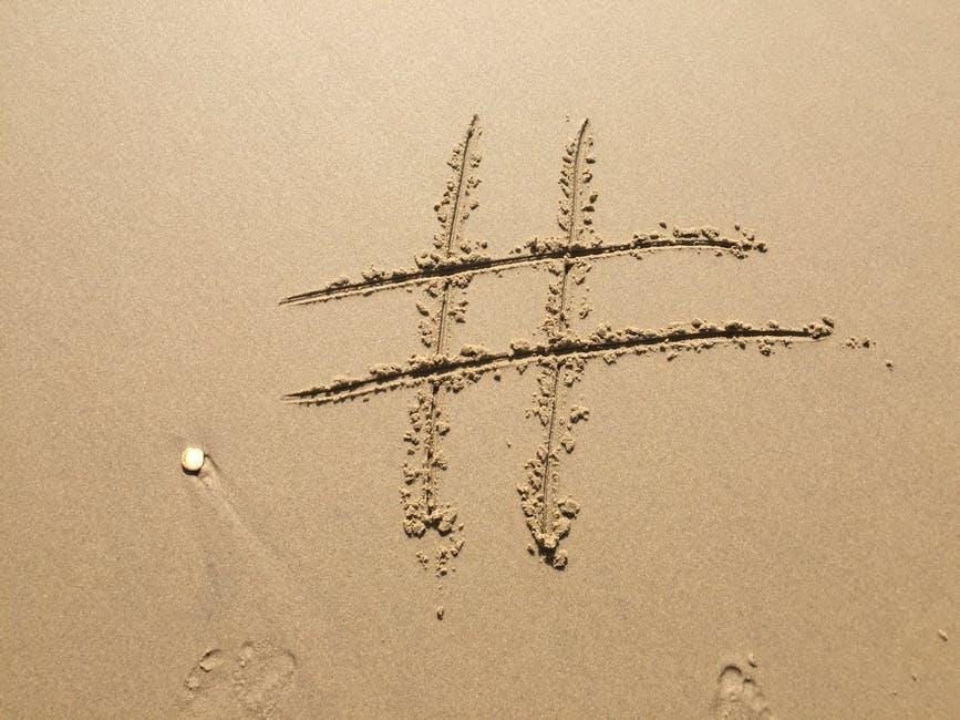 Hashtag branding